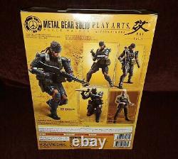Play Arts Kai Metal Gear Solid Peace Walker Snake Figure Battle Version rare PS4