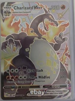 Pokemon CHARIZARD VMAX Shining Fates SV107/SV Full Art- Ultra Rare NM/M