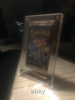 Pokémon Mint & Sealed Base Set Booster Pack (Rare Blastoise Art)Charity