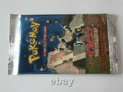 Pokemon- NEO Discovery Booster Pack UMBREON Artwork Factory Sealed