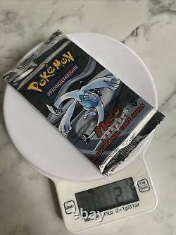 Pokemon Neo Genesis 1st Edition Booster Pack RARE Lugia Artwork 21g