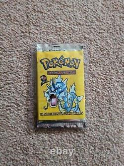 Pokemon WOTC Base Set 2 Sealed Booster Pack Gyarados Artwork WOTC Vintage RARE