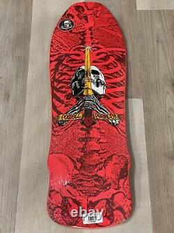 Powell Peralta PINK Skull & Sword GeeGah RARE Skateboard Deck New