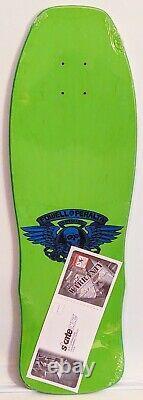 Powell Peralta Per Welinder Streetstyle(rare)limegreen Deck! (re-issue)brandnew