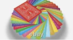 RAINBOW TCC RARE V1 Bicycle Playing Cards LIMITED EDITION NEWithSEALED