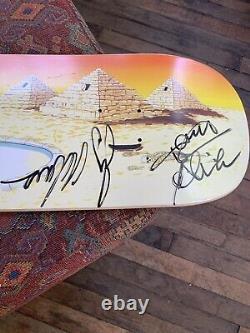 RARE ALVA TEAM DECK Signed By Legends JAY ADAMS & TONY ALVA. SKATEBOARD HISTORY