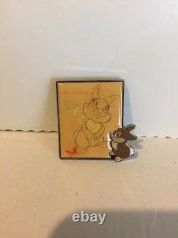 RARE Art Sketch Miss Bunny Disney Pin LE 250 Limited Edition Bambi 2010