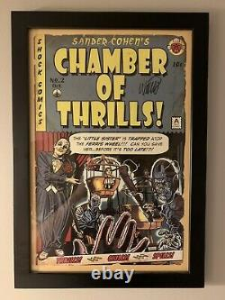 Rare Bioshock Chamber Of Thrills Signed And Numbered Set Of 3 Robb Waters 18/50