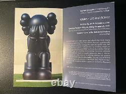 Rare Kaws Show Card From Nerman museum Show