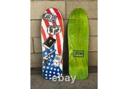 Rare Prime Jason Lee Blind American Icons Skateboard Deck Signed McKee Art 90s