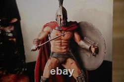 Rare Retired Spartan King LEONIDAS 300 Statue Sculpture NECA Resin 13 NEW