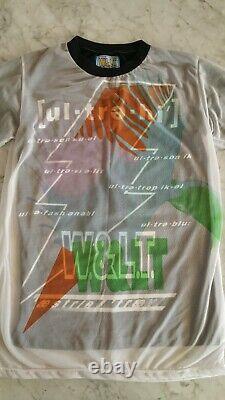 Rare Stylish W<'Wild & Lethal Trash' T-Shirt. Raf Simons. Helmut Lang