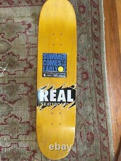 Real Skateboards Signed Peter Ramondetta Brand New Rare Collectible Board