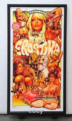 Rockin' Jelly Bean Art Mondo Erostica Silk Screen Poster 100 Limited Rare 3rd