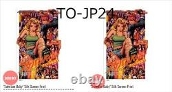 Rockin'Jelly Bean Sukeban Baby Silk Screen Print Poster EROSTIKA 16th RJB RARE