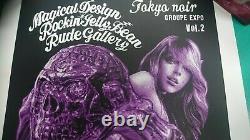 Rockin'Jelly Bean TOKYO NOIR vol. 2 Rude Gallery Silk Screen Poster RARE