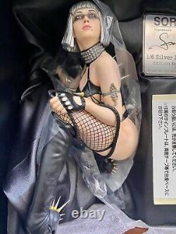 SORAYAMA 3D Art 1/6 Silver Bobbed Replicant PVC Statue 2005 Hajime Rare Limited