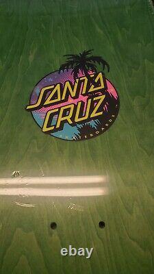 Santa Cruz Reissue Blake Johnson BEAUTIFUL skateboard deck Extremely RARE