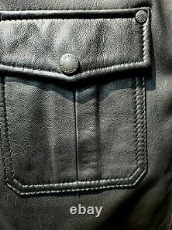 Schott NYC Rare Supple Trucker Euro Lightweight LAMBS Leather Jacket NEWT