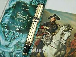 Sealed Montblanc Patron Of Art Friedrich II The Great Le 4810 Launched 1999