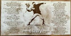 Super Rare 2007 Banksy Vinyl Record Album Art SL-27 7 Limited to 510 Copies