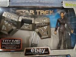 Very Rare Star Trek Enterprise T'Pol & Bridge Station Art Asylum Broken Bow