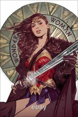 WONDER WOMAN Screen Print Poster by Tula Lotay Mondo Art Limited #/350 NEW RARE