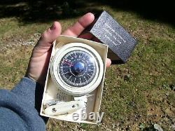 1950 Antique Automobile Altimeter Jauge Nos Guide Vintage Chevy Ford Jalopy Vw