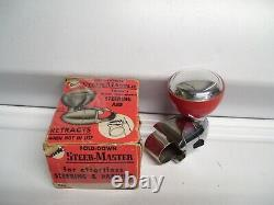 1950 Antique Nos Automobile Suicide / Spinner Knob Vintage Chevy Ford Jalopy