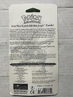 1999 Pokémon Tcg Jungle Blister Booster Scyther Artwork Scelled New Htf Rare