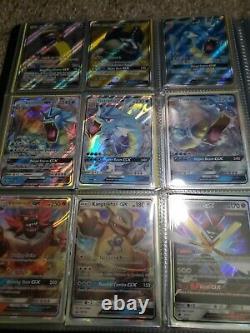89 Carte D'art Complet Lot Pokemon Cartes Liant V Vmax Ex Gx Rainbow Rare Trainer