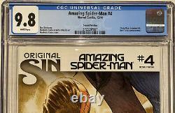 Amazing Spider-man 4 Cgc 9.8 1ère Apparence De Soie Rare 2ème Impression Ramos Art