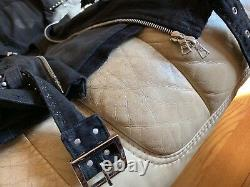 Amiri Art Patch Denim Jacket (rare) Flambant Neuf Avec Tags Taille M