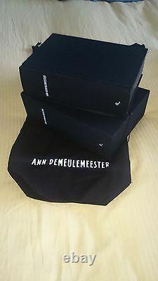Ann Demulemeester Patti Smith Rizzoli Signé Livre Hc 1/1 Rare Slipcased Mode