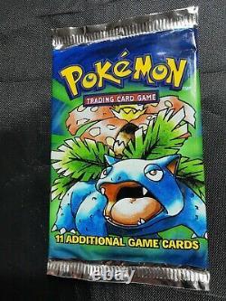 Art Set Brand New Seeld Vintage Original Pokemon Base Illimitée Booster Packs