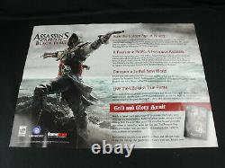 Assassin's Creed IV 4 Black Flag Promo Launch Press Kit Limited Cel Art++ Rare