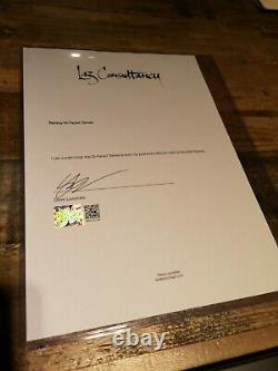 Banksy Di-faced Tenner (10 Gbp Note) 2004 Steve Lazarides Certificat Rare