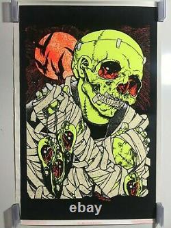 Bird Catcher Pushead Poster 23 X 35 Metallica Artist Rare Trouver Blacklight Horror