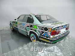Bmw Art Car 525i E34 Esther Mahlangu 118 Minichamps Dealer Ulra Rare Tout Neuf