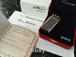 Cartier Briquet Trinity Décor New Gold, 3 Anneaux, Ultra Rare Bnib, Art, Monnaie