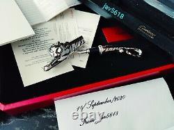 Cartier Tiger F. Pen Prestige Art Exceptionnelle L. 100 E, Relic Ultra Rare Nouveau