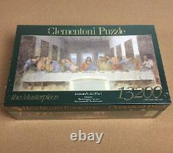 Clementoni 13200 Cène Leonardo Da Vinci Puzzle Rare Nouveau Scellé