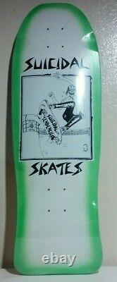 Dogtown Skateboard Deck Suicidal Tendances Lance Mountain Art Rare Scelled 2017