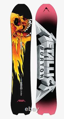 Edition Limitée Burton X Metallica Skeleton Key Snowboard 154cm Pushead Art Rare