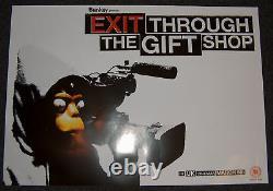 Exit Through The Gift Shop A2 Affiche De Film Banksy Banksey Quantité Limitée Rare