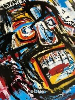 Exposition Basquiat B2 Affiche Nfs Banksy Yayoi Kusama Japan Suoer Photo Rare