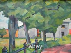 Frederick Buchholz Antique Des Années 1920 New York Impressionniste Moderniste American Rare