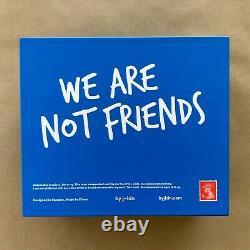 J-ldn Blue We Are Not Friends 75% Shoeuzi Resin Urban Art Toy Wanf Kaws Bff Rare