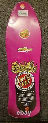 Jason Jessee Santa Cruz Neptune Reissue Skateboard Rare Raspberry Dip En Psy