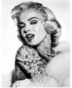 Jj Adams Marilyn Monroe, Preuve De L'artiste. Rare Édition Limitée, Signée, Coa. Nouveau
